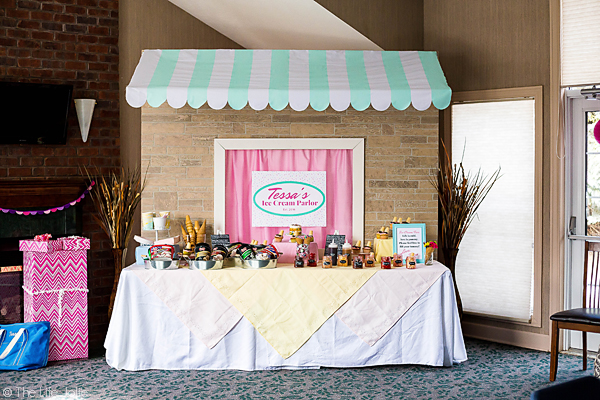 This Ice Cream Social Birthday Party couldn